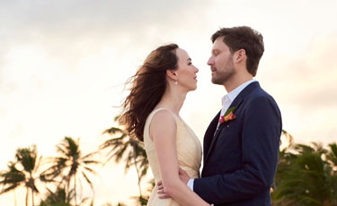 Rena and Chad: Bright Beach Bash